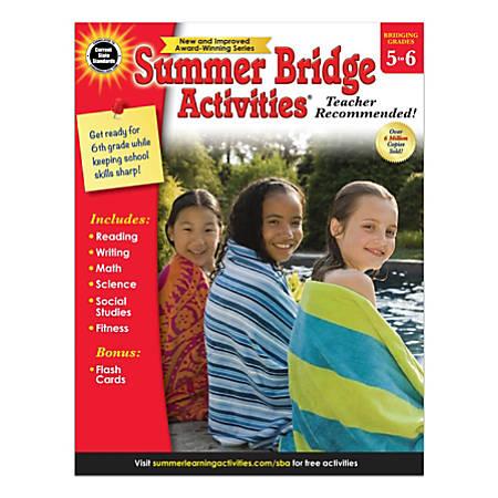 Carson-Dellosa Summer Bridge Activities Workbook, Grades 5-6