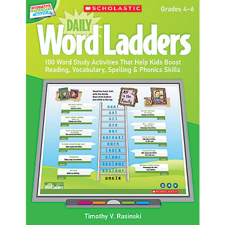 Scholastic Interactive Whiteboard Activities: Daily Word Ladders, Grades 2–3