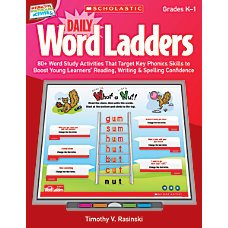 Scholastic Interactive Whiteboard Activities Daily Word