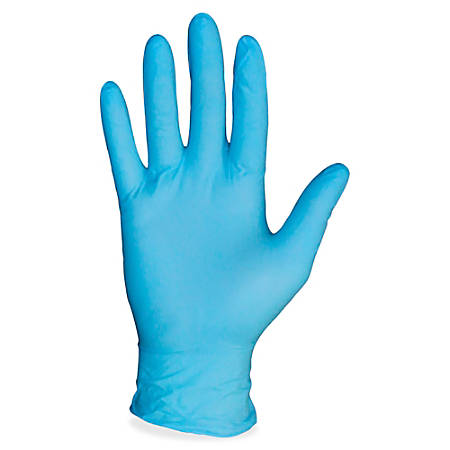 ProGuard PF Nitrile General Purpose Gloves, Large, Blue, Carton Of 1,000