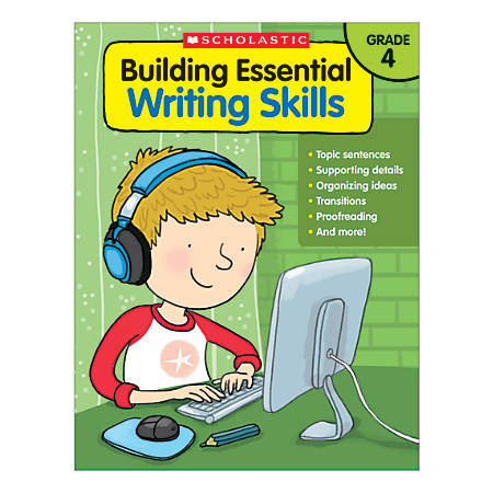 Scholastic Building Essential Writing Skills, Grade 4