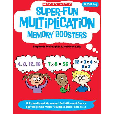 Scholastic Super-Fun Multiplication Memory Boosters