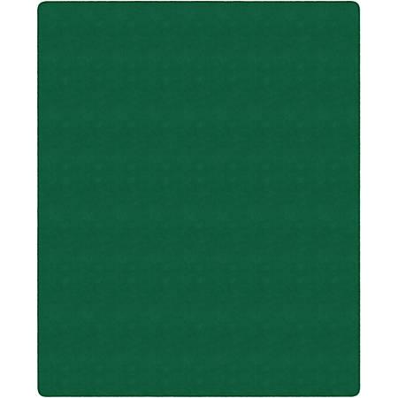 "Flagship Carpets Americolors Rug, Rectangle, 7' 6"" x 12', Clover Green"