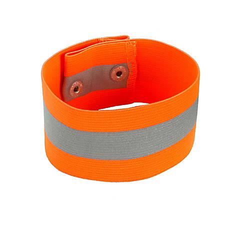 Ergodyne GloWear 8001 Arm/Leg Band, Large/X-Large, Orange