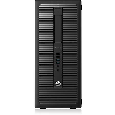 HP Business Desktop ProDesk 600 G1 Desktop Computer - Intel Core i5 i5-4590 3.30 GHz - 4 GB DDR3 SDRAM - 500 GB HDD - Windows 7 Professional 64-bit upgradable to Windows 8.1 Pro - Micro Tower - Black
