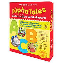 Scholastic AlphaTales Interactive E STorybooks