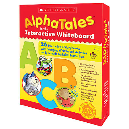 Scholastic AlphaTales Interactive E-STorybooks