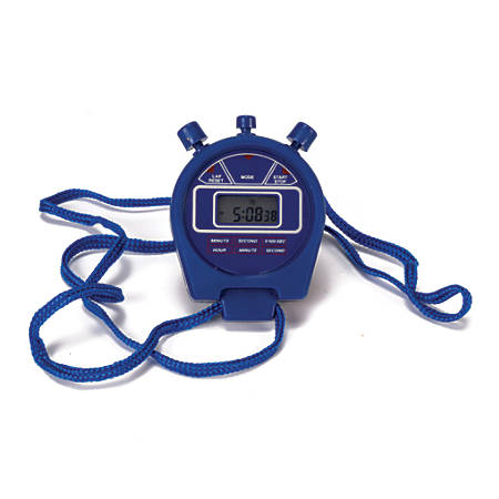 American Educational Digital Stopwatch, Blue, Pack Of 6