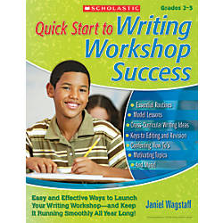 Scholastic Quick Start to Writing Workshop