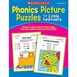 Scholastic Phonics Picture Puzzles For Little
