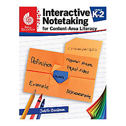 Shell Education Interactive Notetaking for Content