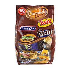 Mars Caramel Lovers Miniature Chocolates 3770
