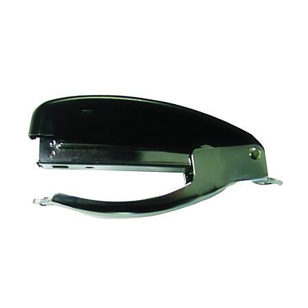 SKILCRAFT® Handheld Plier-Type Stapler, Silver/Black