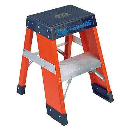 FY8000 Series Industrial Fiberglass Step Stand, 2 ft x 18 in, 300 lb Capacity