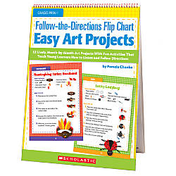 Scholastic Follow The Directions Flip Chart