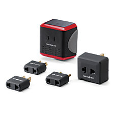 Samsonite Power Adapter ConverterAdapter Black