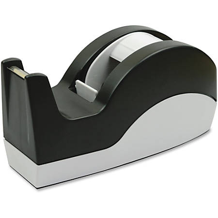 "Sparco Tape Dispenser - 3"" Core - Refillable - Slip Resistant - Black"