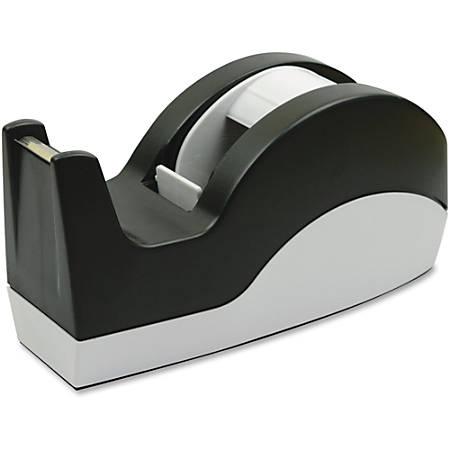 "Sparco Tape Dispenser - 3"" Core - Refillable - Slip Resistant - Black"