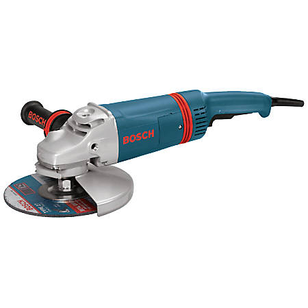 Large Angle Grinders, 9 in Dia, 15 A, 6,000 rpm, Lock on/off Switch