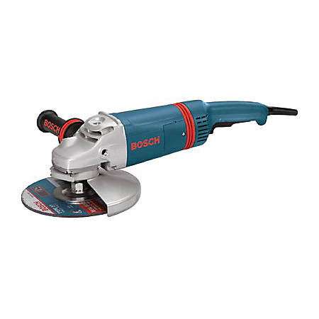 """9"""" LARGE ANGLE GRINDER WITH GUARD 6000RPM"""