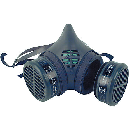 8000 Series Assembled Respirators, Large, Organic Vapors/N95 Cartridges
