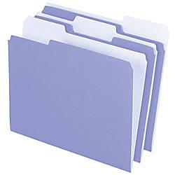 Pendaflex 2 Tone Color Folders 13