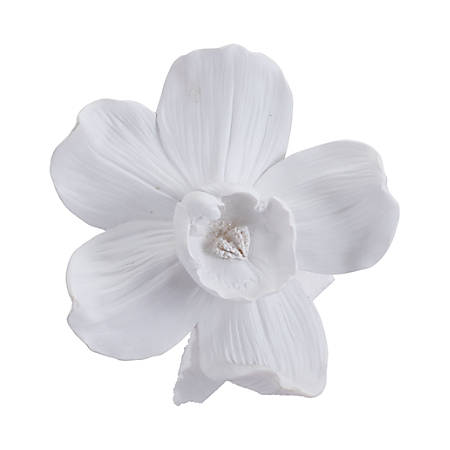 Zuo Modern Orchid Wall Décor, Small, White