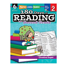 Shell Education 180 Days Of Reading