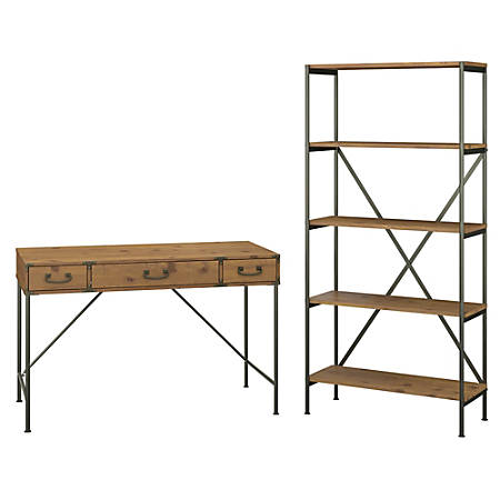 Kathy Ireland Home By Bush Furniture Ironworks 48 W Writing Desk