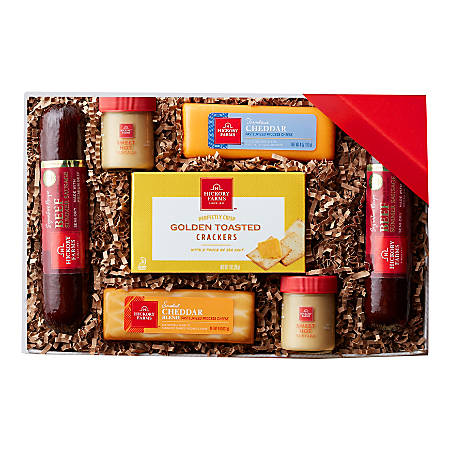 Hickory Farms Meat And Cheese Gift Box