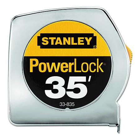 "Powerlock® Tape Rules 1"" Wide Blade, 1 in x 35 ft"