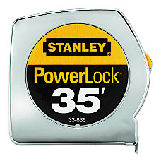 Powerlock Tape Rules 1 Wide Blade