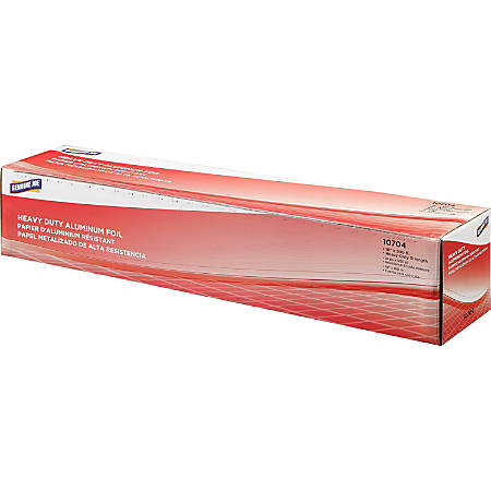 "Genuine Joe Heavy-duty Aluminum Foil - 18"" Width x 500 ft Length - Heavy Duty, Sturdy - Aluminum - Silver"