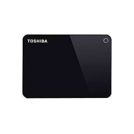 "Toshiba Canvio Advance 2 TB Portable Hard Drive - 2.5"" External - Black - USB 3.0 - 2 Year Warranty"