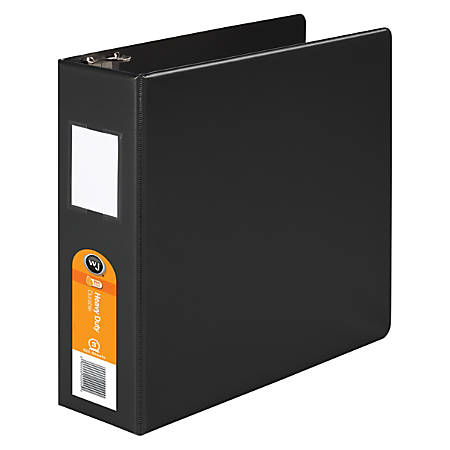 "Wilson Jones® Original DublLock® Round-Ring Binder, 3"" Rings, Black"