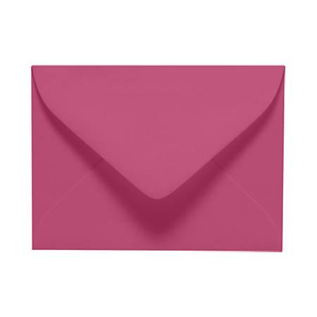 "LUX Mini Envelopes With Moisture Closure, #17, 2 11/16"" x 3 11/16"", Magenta, Pack Of 1,000"