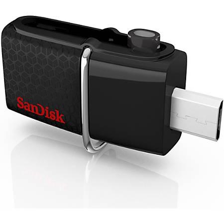 SanDisk Ultra® Dual USB 3.0 Flash Drive, 64GB