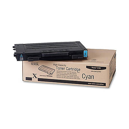 Xerox® 106R00680 High-Capacity Cyan Toner Cartridge