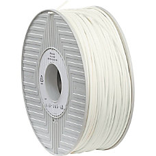 Verbatim 3D Printer ABS Filament White