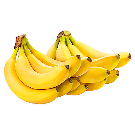 National Brand Fresh Bananas, 3 Lb, Pack Of 2 Bunches