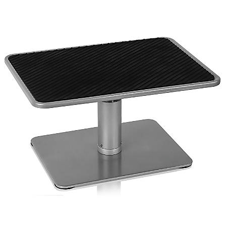 """Mount-It Stand For 11 - 15"""" Laptops, 6-1/2""""H x 11-3/4""""W x 8-1/4""""D, Silver"""