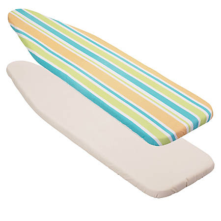 """Honey-Can-Do Reversible Ironing Board Cover For 54"""" Ironing Boards, Stripes"""