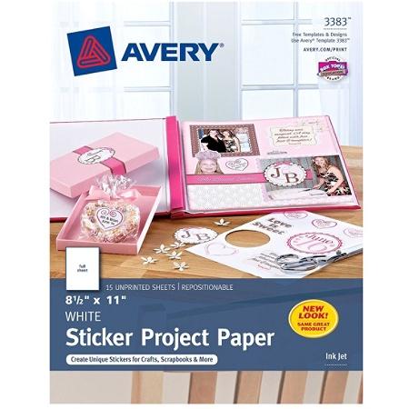 MATT 40x A4 White Self Adhesive Sticker Paper Sheet Address Label UK