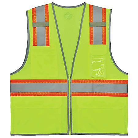 Ergodyne GloWear Safety Vest, 2-Tone, Type-R Class 2, Small/Medium, 8246Z
