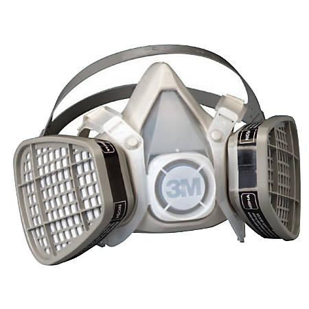 5000 Series Half Facepiece Respirators, Large, Organic Vapors/P95