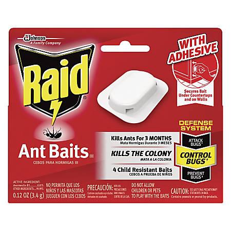 Raid Ant Baits, Pack Of 4