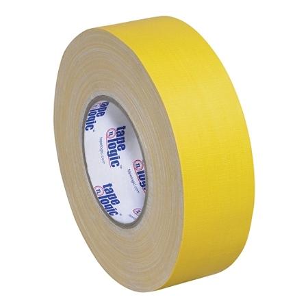 "Tape Logic Gaffers Tape, 1"" x 60 Yd., 11 Mil, Yellow, Case Of 3 Rolls"