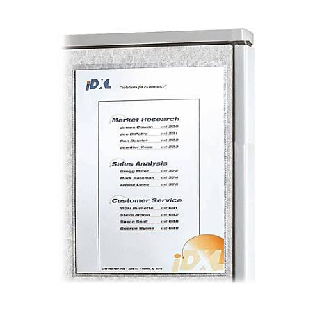 "C-Line® Self-Gripping Office Panel Organizers, 8 1/2"" x 11"""