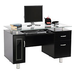 Realspace Sutton Executive Desk Black