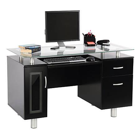 Reale Sutton Executive Desk Black